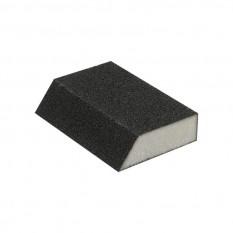 Губка для шлифования трапеция 110*75*54*25 мм, оксид алюминия К120