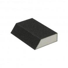 Губка для шлифования трапеция 110*75*54*25 мм, оксид алюминия К180