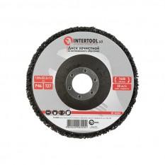 Диск зачистной из вспененного абразива черный 125*22,2*13 мм, P46, T27