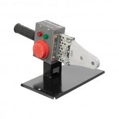 Паяльник для пластиковых труб, 850 Вт, 0-300°C, насадки 20, 25, 32 мм, металлический кейс