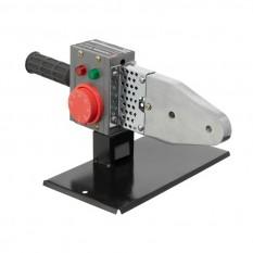 Паяльник для пластиковых труб, 850 Вт, 0-300°C, насадки 20, 25, 32, 40, 50, 63 мм, металлический кей