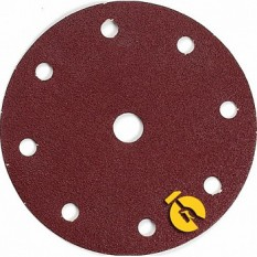 Набор шлифовальной бумаги ?150 мм К150 9 отверстий (10 шт.) Makita (Макита) оригинал P-31968