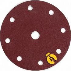 Набор шлифовальной бумаги ?150 мм К320 9 отверстий (10 шт.) Makita (Макита) оригинал P-32007