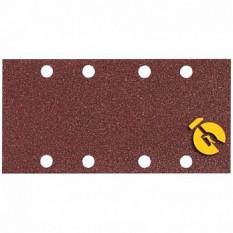 Набор шлифовальной бумаги 93х185 мм К120 8 отверстий (10 шт.) Makita (Макита) оригинал P-35891