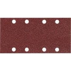 Набор шлифовальной бумаги 93х185 мм К240 8 отверстий (10 шт.) Makita (Макита) оригинал P-35922
