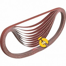 Набор шлифовальных лент 30х533 мм К80 (5 шт.) Makita (Макита) оригинал P-36697