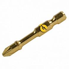 Торсіонна біта золотої серії з подвійним торсіоном PZ2-50мм (2шт) Makita (Макита) оригинал B-39182