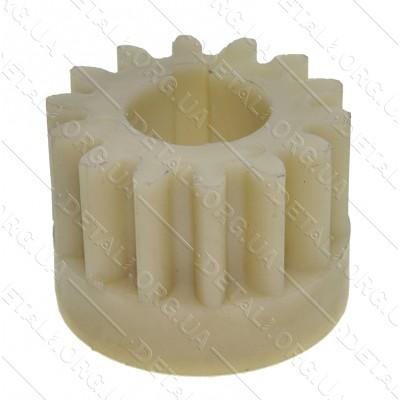 Шестерня пластик мотокосы (культиватора) Темп МК-800 (d19*39 h29 14-з прямо)