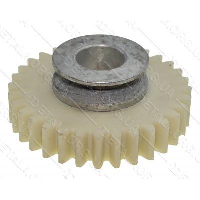 Шестерня пластик мотокосы (культиватора) Темп МК-800 (d22*84 h15,5/31 32-з прямо)