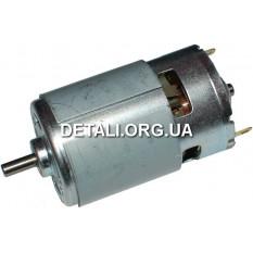 Двигатель шуруповерта 9,6В d44 h93 вал 5мм