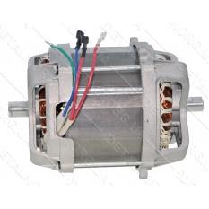 Двигатель асинхронный газонокосилки LEX 2950W (D124,5 /H164/Lвала206) вал17мм (болт8мм) меж.отв148мм