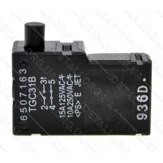 Кнопка TGC31B (выключатель) цепной пилы Makita UC3541A оригинал 650716-3