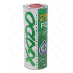 Масло для 2-х тактных двигателей XADO 2T FC Atomic Oil, 1 л, ж/б круглая / синтетика