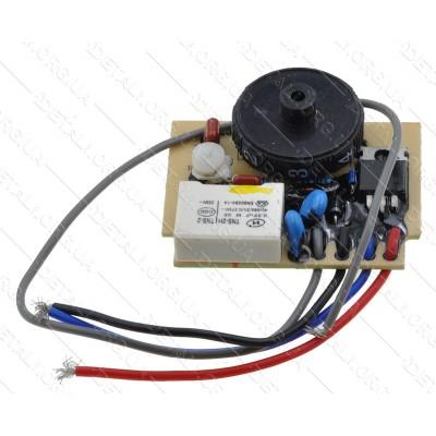 Регулятор оборотов болгарки УШМ Темп 125-E (43*53,5 4 провода)