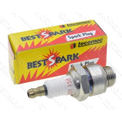 Свеча зажигания 4-T TECOMEC Best Spark JR-19 оригинал 501158 L60 M14*1,25 9,5mm