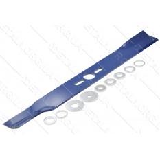 Нож газонокосилки универсальный в комплекте d26 S50 L450 мм