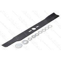 Нож газонокосилки универсальный в комплекте d26 S50 L450мм