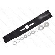 Нож газонокосилки универсальный в комплекте d26 S57 L370мм