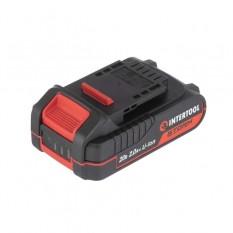 Аккумулятор 20 В, литий-ион, 2.0 Ач, индикатор уровня заряда