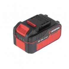 Аккумулятор 20 В, литий-ион, 4.0 Ач, индикатор уровня заряда
