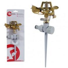 Дождеватель пульсирующий с полной или частичной зоной полива на костыле