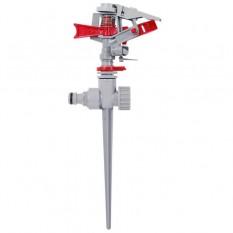 Дождеватель пульсирующий с полной или частичной зоной полива на костыле, круг/сектор полива до 12м
