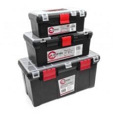 Комплект ящиков для инструментов 3шт (ВХ-0125 13' ВХ-0016 16' ВХ-0205 20.5')