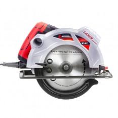Пила дисковая 1800 Вт 5000 об/мин угол 90-45 глубина распила 73-48 мм диск 210*30 мм  40 зубов