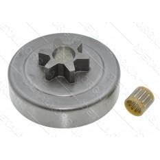 Чашка зчеплення бензопили Oleo-Mac 936 (d63*66,5 / dвн13 / 6-з прямо L27)