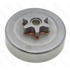 Чашка зчеплення бензопили OleoMac GS35C (d63*66 / dвн8,5 6-з прямо h27)