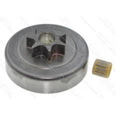 Чашка зчеплення бензопили Oleo-Mac GS 44 (d63*66,5 / dвн13 7-з прямо h27,5)