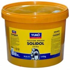Солидол Yuko (NLGI 3) 9 кг ведро пластик