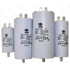 конденсатор JYUL CBB-60M 35мкф - 450 VAC болт + клеммы (40*95 mm)