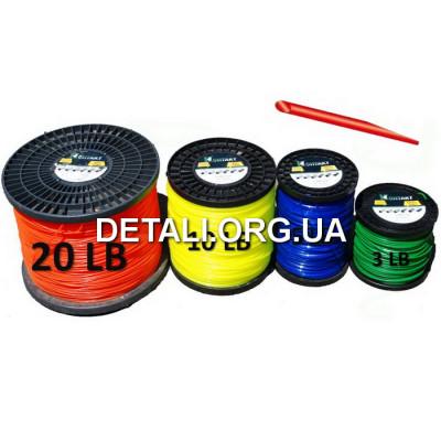 Леска триммера 4 мм круг 20 LB