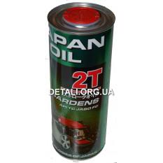 Масло для двухтактных двигателей Japan Oil GARDENS 2T ж/б 1L