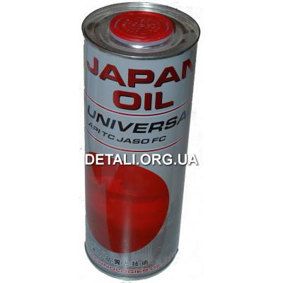 Масло для двухтактных двигателей Japan Oil UNIVERSAL 2T ж/б 1L