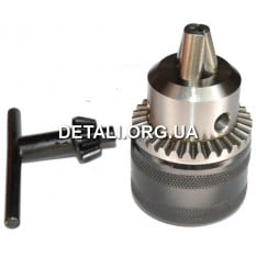 Патрон под ключ B12 3-16 мм металл
