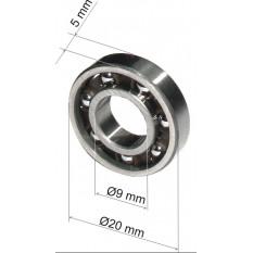 подшипник в хомут Bosch 2-24 открытый (9*20*5) оригинал 1610905016