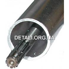 Штанга с трубой на мотокосу 9x9T D 26, d-8mm, L-760mm