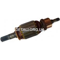 якорь отбойный молоток (бетонолом) Титан ПМ-2050 ( 226*57 9-з прямо)