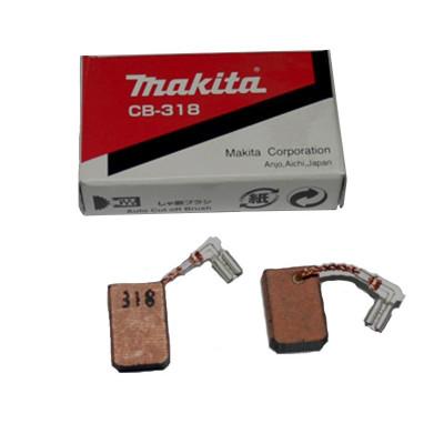 Вугільні щітки CB-318 (CB310) (комплект з 2 шт.) Makita (Макита) оригинал 191978-9