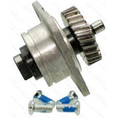 Блок шестерня дисковой пилы 27 зубов право 2 шлица Metabo KGS 216 оригинал 1010734602