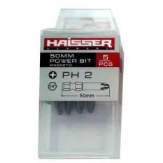 бита Haisser PH2 х 50 мм (5 штук в пластик. коробке) - 1 шт
