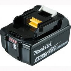 Аккумулятор LXT BL1840B (Li-Ion, 18В, 4Ah, индикация разряда) Makita оригинал 632F07-0