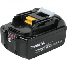Аккумулятор LXT BL1850B (Li-Ion, 18В, 5Ah, индикация разряда) Makita оригинал 197280-8