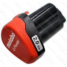 Аккумулятор для шуруповерта Metabo Li-ion 10.8V 2.0Ah