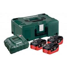Базовий комплект 3 x LiHD 5,5 Ah (ASC 30-36 V, Metaloc)