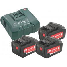 Базовий комплект x 5,2 А-год ASC Ultra 3 x акумулятори 5,2 A-год. 1 x зарядний пристрій ASC Ultra