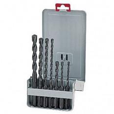 Комплект бурів SDS-Plus Classic, 7 шт., діам. 5, 6, 6, 8, 10 x 160 мм / 6, 8, 10, 12 x 210 мм