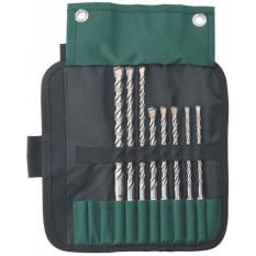 Комплект бурів SDS-Plus Classic, 8 шт., діам. 6, 6, 8, 8, 10 x 160 мм / 8, 10, 12 x 210 мм